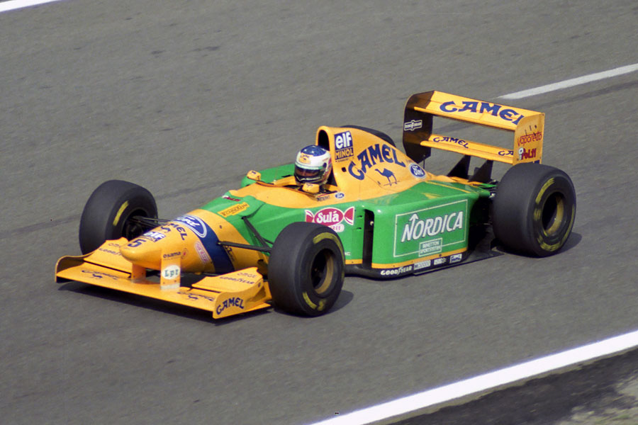 005 | 1993 | Spa-Francorchamps | Benetton-Ford Cosworth B193B | Michael Schumacher | © carsten riede fotografie