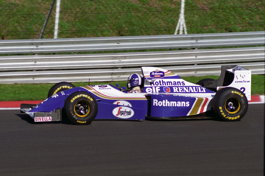 035 | 1994 | Monza | Williams-Renault FW16B | David Coulthard | © carsten riede fotografie