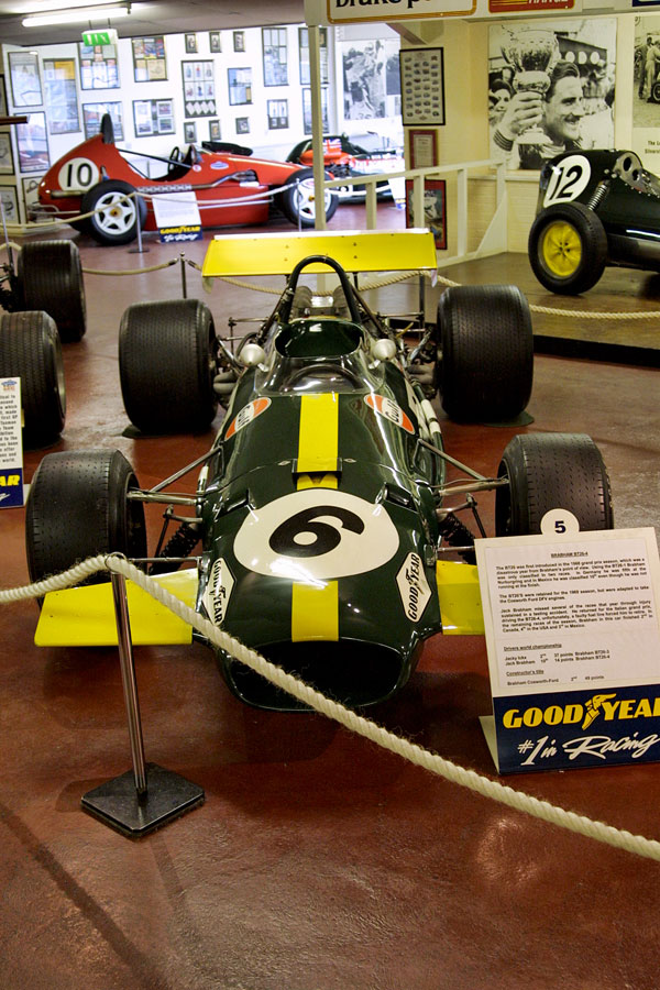 029 | 2004 | Donington | Grand Prix Collection | Brabham-Ford Cosworth BT26-4 (1968-1971) | © carsten riede fotografie