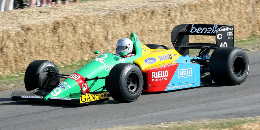 001 | 2009 | Goodwood | Festival Of Speed | Benetton-Ford Cosworth B188 | © carsten riede fotografie
