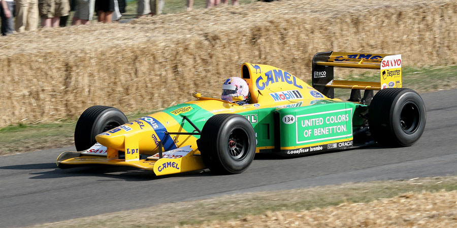 002 | 2009 | Goodwood | Festival Of Speed | Benetton-Ford Cosworth B192 | © carsten riede fotografie