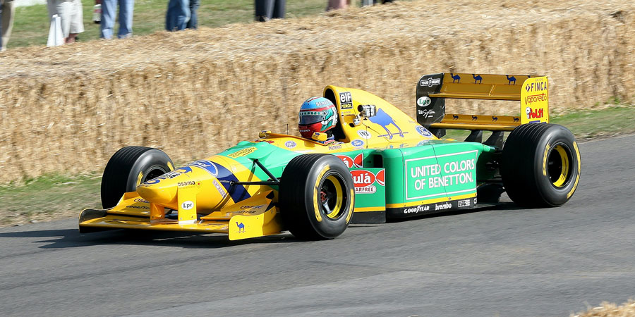 003 | 2009 | Goodwood | Festival Of Speed | Benetton-Ford Cosworth B193B | © carsten riede fotografie