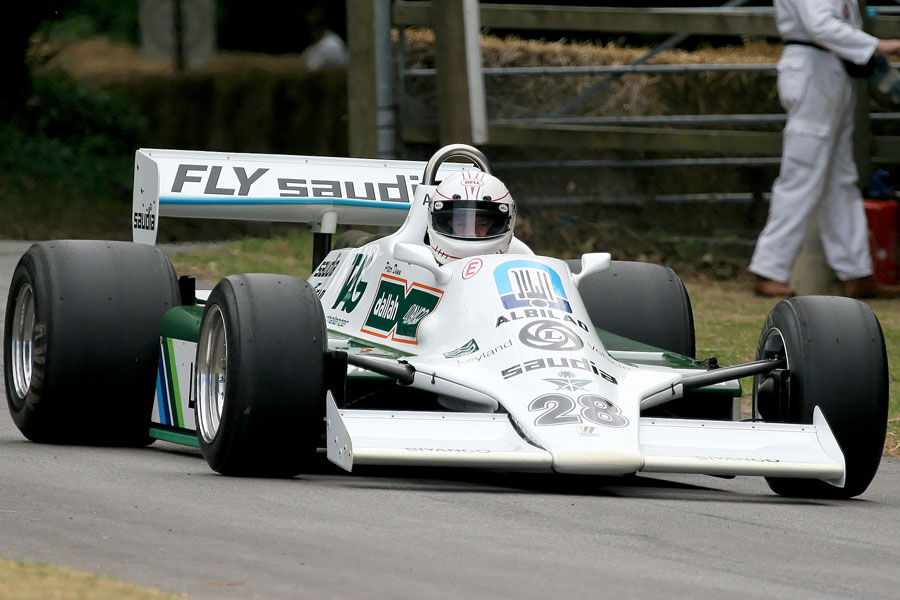 037 | 2009 | Goodwood | Festival Of Speed | Williams-Ford Cosworth FW07 | © carsten riede fotografie