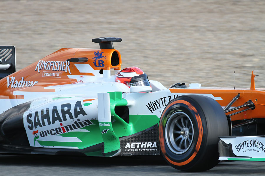 049 | 2013 | Jerez De La Frontera | Force India-Mercedes Benz VJM06 | James Rossiter | © carsten riede fotografie